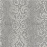 Tapety na stenu Antique - antický vzor sivý