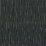 Vliesové tapety Belcanto - vlnovky šedo-čierne