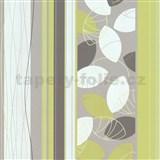 Vliesové tapety Belcanto - lístie zelené