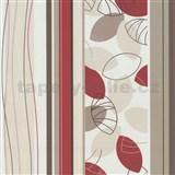 Vliesové tapety Belcanto - lístie červené