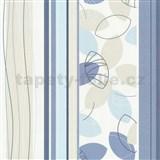 Vliesové tapety Belcanto - lístie modré