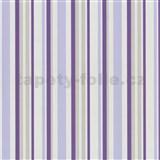 Tapety na stenu Confetti - pruhy fialové