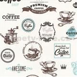 Tapety na stenu Dieter Bohlen - Coffee modré
