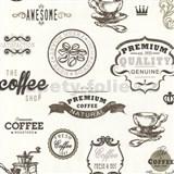 Tapety na stenu Dieter Bohlen - Coffee hnedé