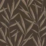 Tapety na stenu Dieter Bohlen - bambusové listy hnedé - ZĹAVA