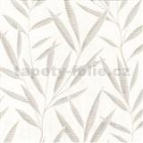 Tapety na stenu Dieter Bohlen - bambusové listy svetlo hnedé