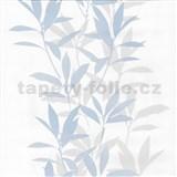 Tapety na stenu Dieter Bohlen - lístie modré - ZĽAVA