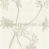 Tapety na stenu Fresh Start kvety hnedé