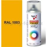 Sprej žltý 400ml, odtieň RAL 1003 farba signálna žltá