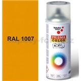 Sprej žltý 400ml, odtieň RAL 1007 farba chrómovo žltá