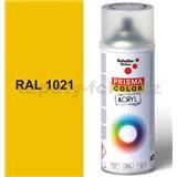 Sprej žltý 400ml, odtieň RAL 1021 farba kadmiové žltá
