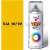 Sprej žltý matný 400ml, odtieň RAL 1021 farba žltá matná