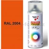 Sprej oranžový lesklý 400ml, odtieň RAL 2004 farba oranžová lesklá