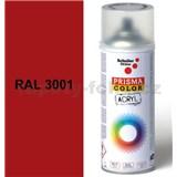 Sprej signálny červený lesklý 400ml, odtieň RAL 3001 farba signálno červená lesklá