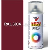 Sprej červený lesklý 400ml, odtieň RAL 3004 farba purpurovo červená lesklá