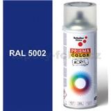 Sprej modrý lesklý 400ml, odtieň RAL 5002 farba ultramarínová modrá lesklá