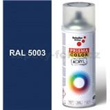 Sprej modrý lesklý 400ml, odtieň RAL 5003 farba zafírovo modrá lesklá