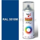 Sprej modrý matný 400ml, odtieň RAL 5010 farba enciánová modrá matná