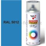 Sprej modrý 400ml, odtieň RAL 5012 farba svetlo modrá