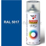Sprej modrý 400ml, odtieň RAL 5017 farba dopravná modrá
