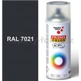 Sprej sivý 400ml, odtieň RAL 7021 farba čierno sivá