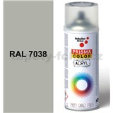 Sprej achátovo sivý lesklý 400ml odtieň RAL 7038 farba achátová sivá lesklá