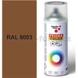 Sprej hnedý 400ml, odtieň RAL 8003 farba hnedá hlina