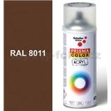 Sprej hnedý 400ml, odtieň RAL 8011 farba orechovo hnedá