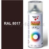 Sprej čokoládovo hnedý lesklý 400ml, odtieň RAL 8017 farba čokoládovo hnedá lesklá