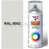 Sprej sivý 400ml, odtieň RAL 9002 farba bielo sivá