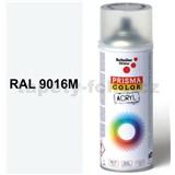 Sprej dopravný biely matný 400ml, odtieň RAL 9016M farba dopravná biela matná