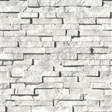 Vinylové tapety kamenná stena sivá