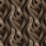 Vinylové tapety 3D abstrakt hnedý