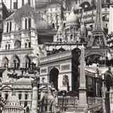 Papierové tapety Paris