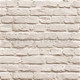 Vliesové tapety na stenu Just Like It kamenný múr svetlo hnedá
