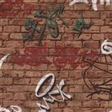 Tapety na stenu Young Spirit - Graffiti zelené