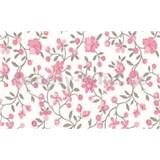Samolepiace tapety kvety ružové - 45 cm x 15 m