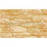 Samolepiace tapety kamenná stena - 90 cm x 15 m