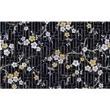Samolepiace tapety orientálny kvet - 67,5 cm x 15 m