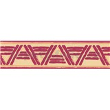 Samolepiaca bordúra lines bordový 10 m x 5,3 cm