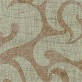 Tapety na stenu La Veneziana benátsky vzor na zlatom podklade s metalickým efektom