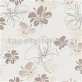 Papierové tapety na stenu Dieter Bohlen - ľalie hnedé