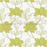 Tapety na stenu Feeling - kvety ľalie - zelené
