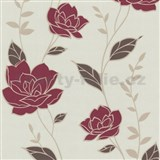 Tapety na stenu Flair - kvety ruží - červené