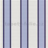 Tapety na stenu Flair - široké pruhy - modré