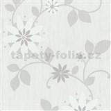 Tapety na stenu Flair - kvet hviezdový - biely