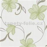 Tapety na stenu Flair - ľalia zelená