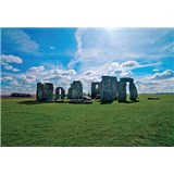 Vliesové fototapety Stonehenge, rozmer 312 x 219 cm