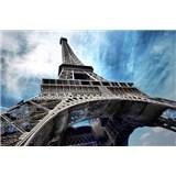 Vliesové fototapety Eiffelová veža, rozmer 312 x 219 cm