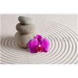 Vliesové fototapety wellness orchidea, rozmer 312 x 219 cm